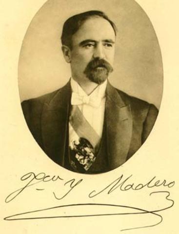 Madero se proclama presidente