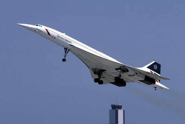 Primer vuelo del Concorde.