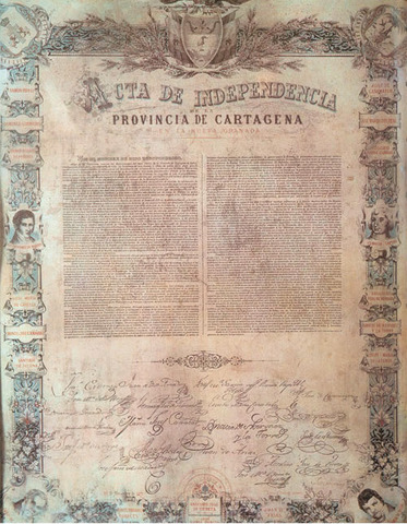 La Independencia de Cartagena.