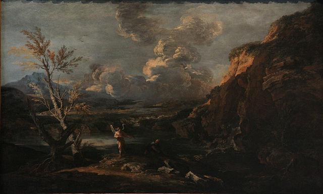 Salvator Rosa-Influence on Romanticist landscapers styles.
