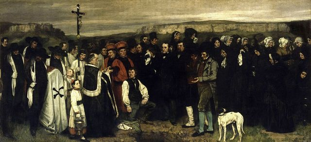 Gustave Courbet-Realist Movement Founder.