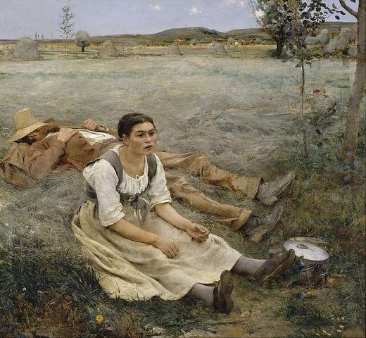 Jules Bastien-Lepage-Realism/Naturalism Painter