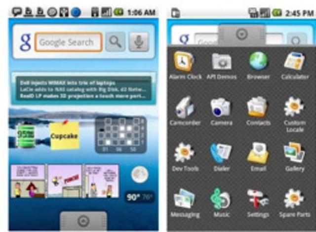 HTC Dream con Android 1.0