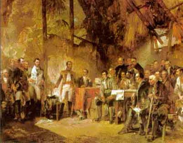 Campaña libertadora de la Nueva Granada.