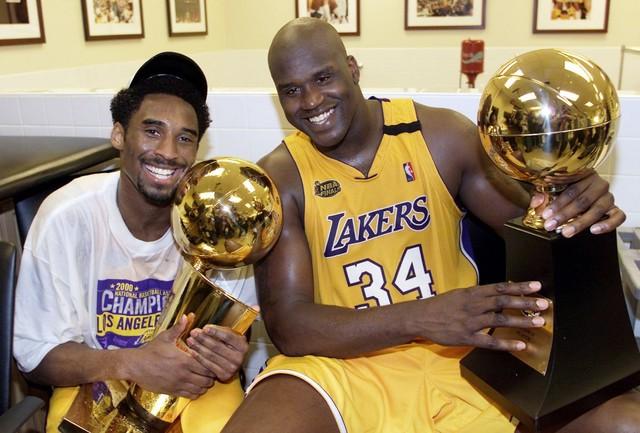 El Gran Shaquille O'Neal y Kobe Bryant
