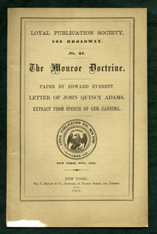 The Monroe Doctrine (Political)