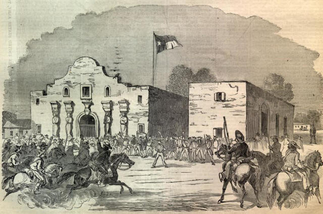 The Battle of the Alamo (Military)