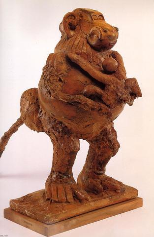 Pablo Picasso - La guenon et son petit