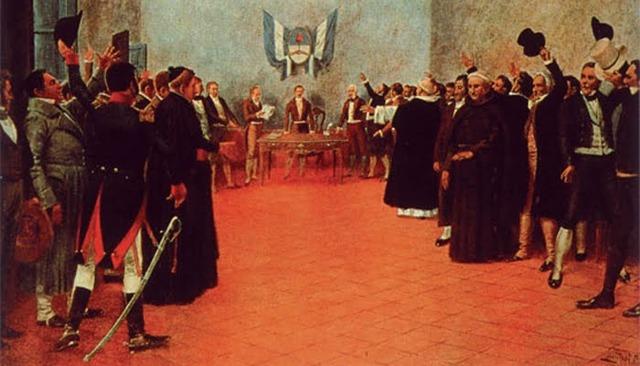 Departamento del Sur (Quito) declara su independencia de Colombia.