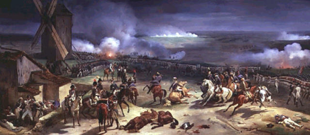 The French army halted the Prussians at Valmy.