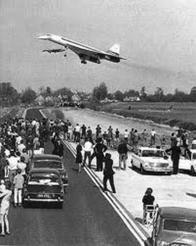 Concorde completes testing.