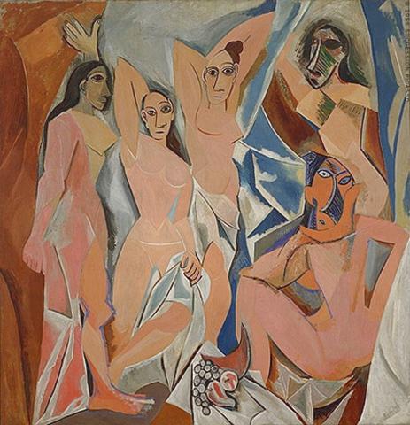 Pablo Picasso - Les Demoiselles d'Avignon