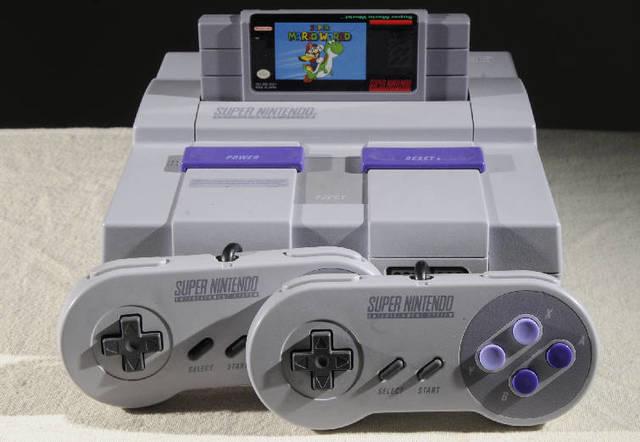 Primeiro videogame - Super Nintendo