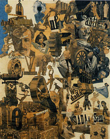 Hannah Höch-One of the leading Dada Artists.
