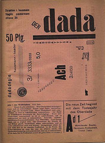Raoul Hausmann-One of the key figures in Berlin Dada