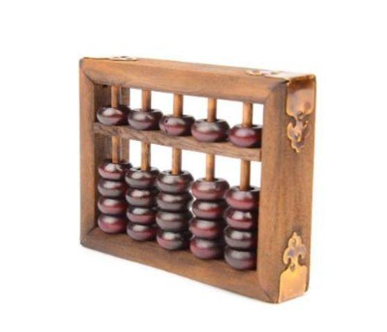 Criação do Ábaco, a primeira calculadora.