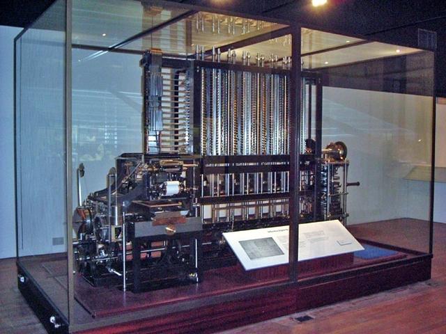Invento de la primera Máquina Analítica
