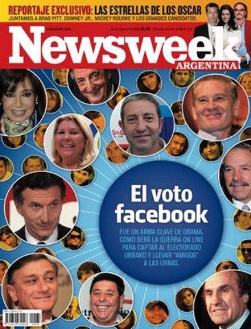 Facebook en la revista Newsweek