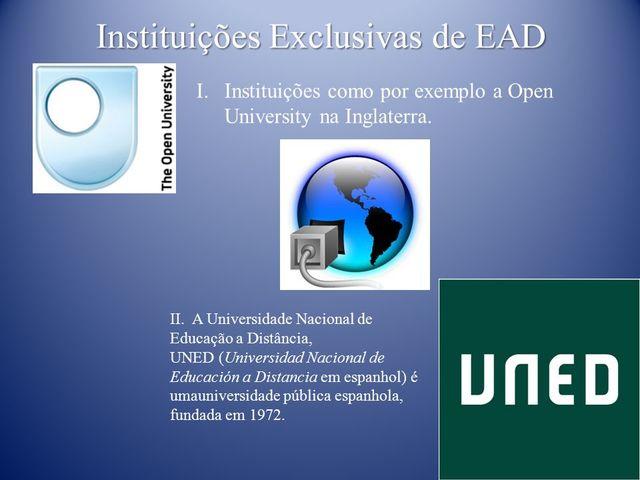 Criação de instituição inclusiva de EAD na Espanha
