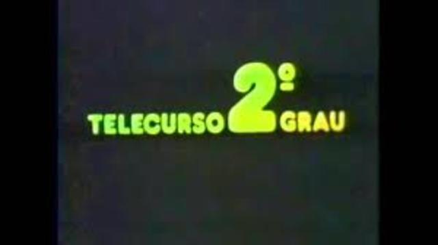 Surge o Telecurso 2º Grau
