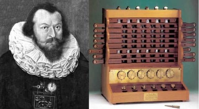 Reloj Calculante-Wilhelm Schickard