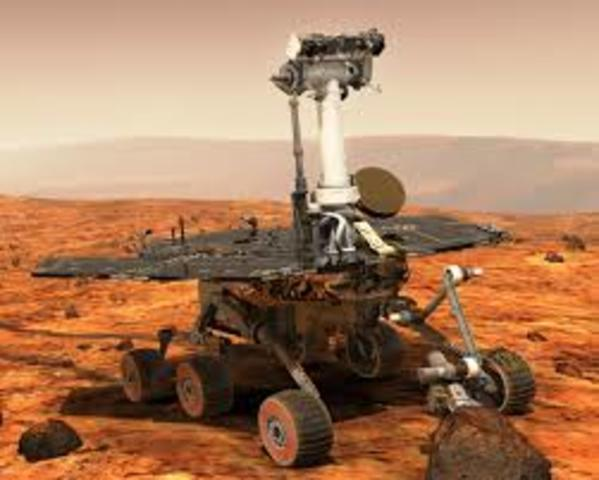 Opportunity and Spirit Mars Rovers Land on Mars