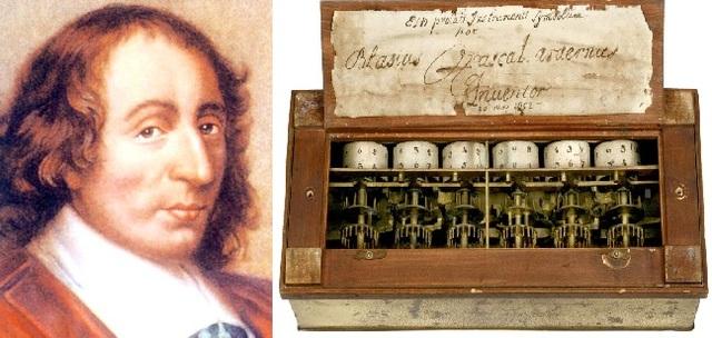 Máquina de Pascal o Pascalina- Blaise Pascal