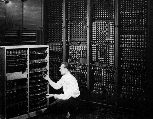 Computadora ENIAC-Eckert y Mauchly