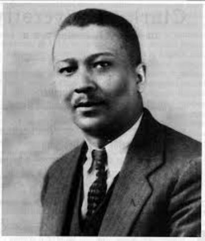 First African American Doctorate in Psychology