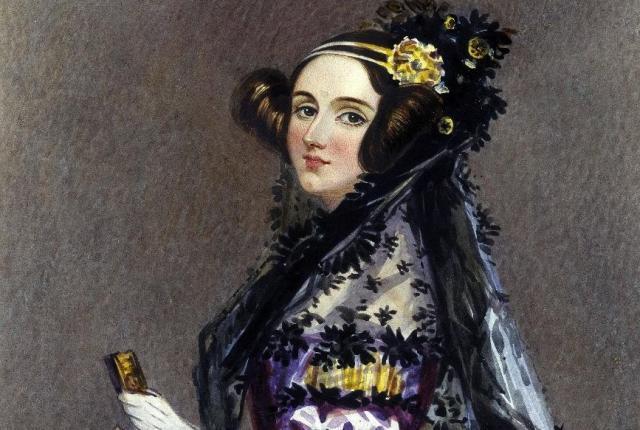 Augusta Ada Byron.