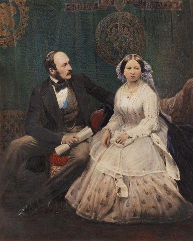 Victoria's husband, Prince Albert, dies.