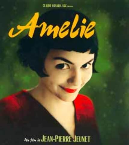 Amélie de Jean Pierre Jeunet llega a convertirse en la película francesa más taquillera.