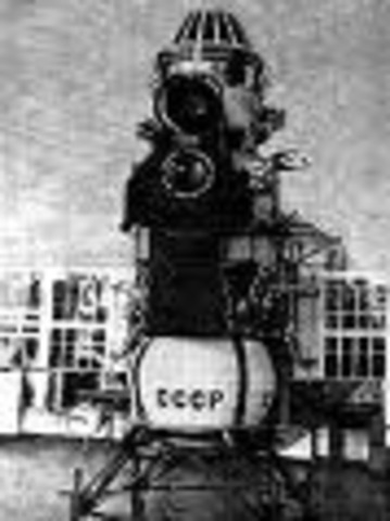 Soviet Union launches space craft