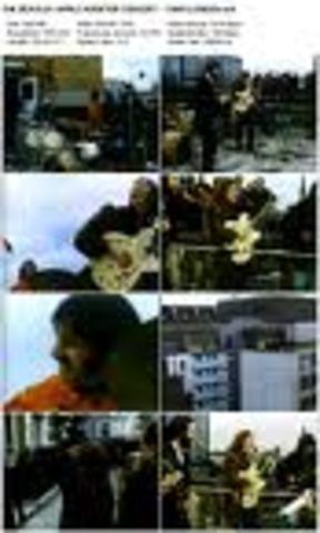 Beatles last public performance.