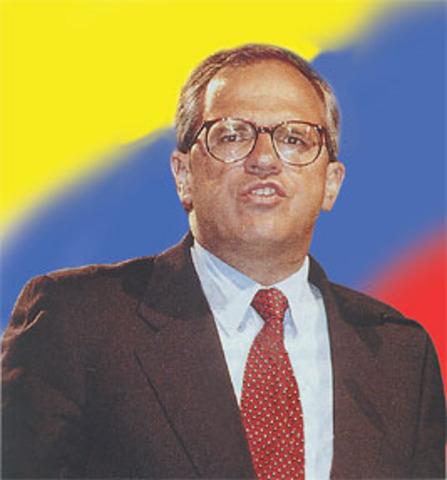 Es elegido Andrés Pastrana como presidente de Colombia