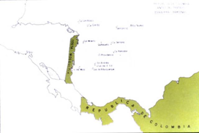 Tratado Esguerra-Bárcenas roto.