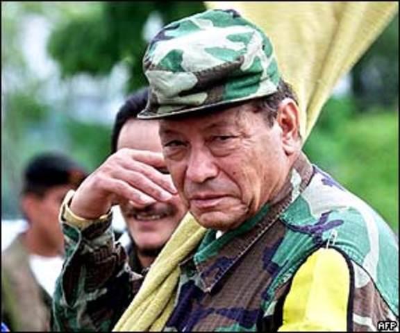 muere de un infarto el fundador y máximo dirigente de las FARC