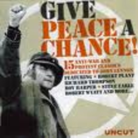 Song 'Give peace a chance' is recorded