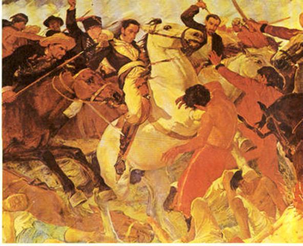 Independencia y aparicion de la Republica Colombiana
