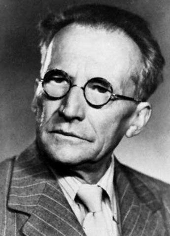 Erwin Schrodinger is born