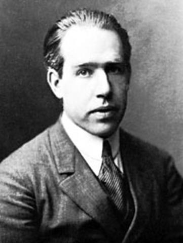 Niels Bohr is born