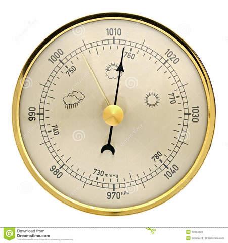 Se inventa el baròmetro