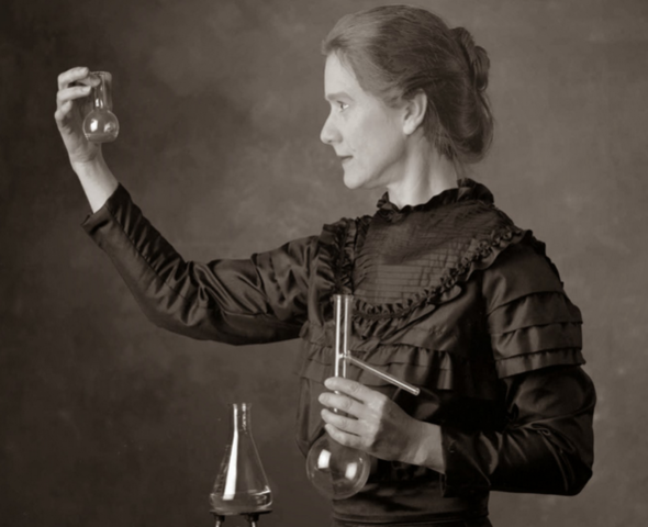 Marie Curie wins her first Nobel Peace Prize
