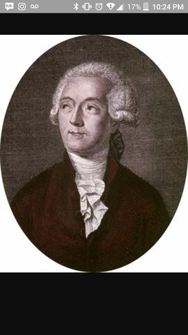 Antoine Lavoisier's birth
