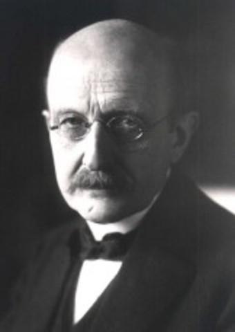 Max Planck is Born