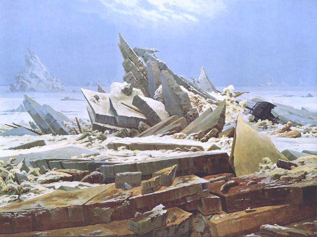 Caspar David Friedrich - La Mer de glace