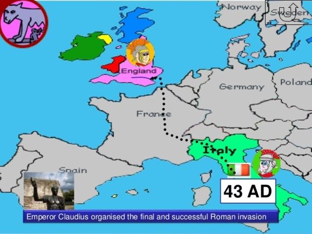 43 D.C. CLAUDIUS EMPEROR
