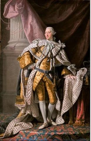 KING GEORGE III 1738-1820