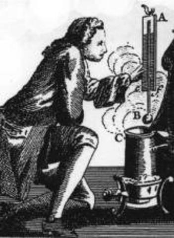 1709 d.C.-  Invención del termómetro.