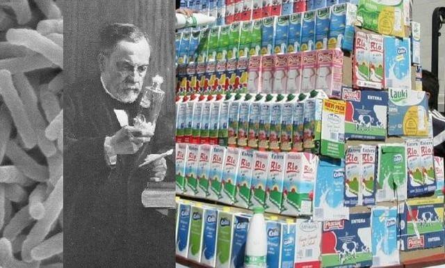 1860 d.C.-  Louis Pasteur introduce la esterilización por calor del vino y la leche (Pasteurización).